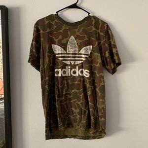 Adidas Tshirt Camo